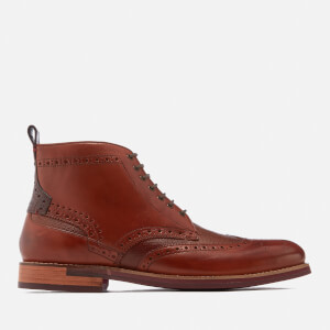 Ted Baker Men's Hjenno Leather Lace Up Boots - Tan