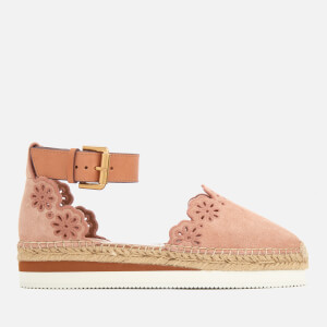 See By Chloé Women's Suede Espadrilles - Natural