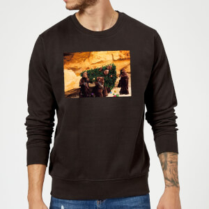 Star Wars Jawas Christmas Tree Black Christmas Sweatshirt