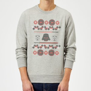 Pull de Noël Homme Star Wars Empire - Gris
