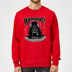 Star Wars Darth Vader Merry Sithmas Red Christmas Sweater