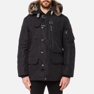 Parajumpers Men's Kodiak Faux Fur Jacket - Black