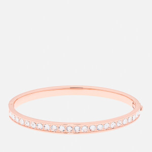 Ted Baker Women's Clemara Hinge Crystal Bangle - Rose Gold/Crystal - Silver