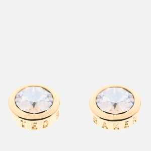 Ted Baker Women's Sinaa: Swarovski Crystal Stud Earrings - Gold/Crystal