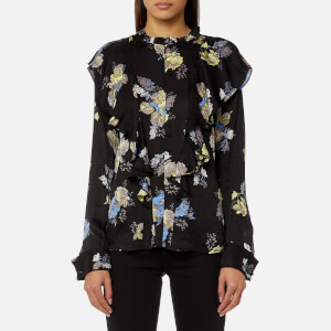 Gestuz Women's Aia Flower Printed Blouse - Multi