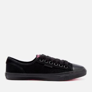 Superdry Women's Low Pro Sneakers - Black