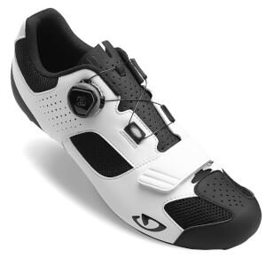 Giro Trans Boa Road Cycling Shoes - White/Black
