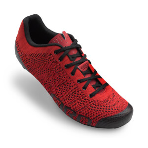 Giro Empire E70 Knit Road Cycling Shoes - Bright Red/Dark Red