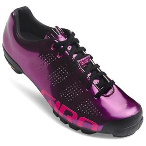 Giro VR90 Women's MTB Cycling Shoes - Berry/Bright Pink