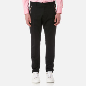Dsquared2 Men's Zip Detail Hockney Fit Trousers - Black