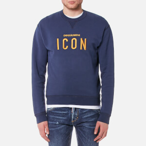 Dsquared2 Men's Icon Logo Dan Fit Sweatshirt - Navy