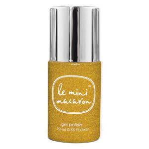 Le Mini Macaron Gel Polish - Gold Glitter 10ml