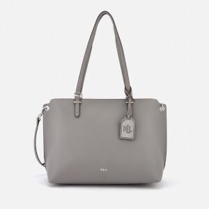 Lauren Ralph Lauren Women's Anfield Claire Shopper Bag - Light Grey