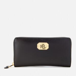 Lauren Ralph Lauren Women's Newbury Zip Wallet - Black