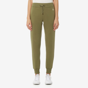 Polo Ralph Lauren Women's Track Bottoms - Olive