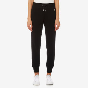 Polo Ralph Lauren Women's Track Bottoms - Black
