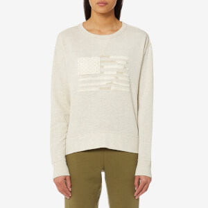 Polo Ralph Lauren Women's Flag Sweatshirt - Heather Grey