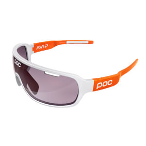 POC DO Blade Clarity Sunglasses - Hydrogen White/Zink Orange