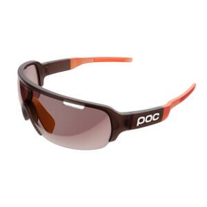 POC DO Half Blade Clarity Sunglasses - Propylene Red Translucent/Zink Orange