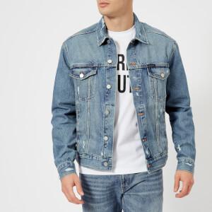 Calvin Klein Men's Classic Trucker Denim Jacket - Vintage