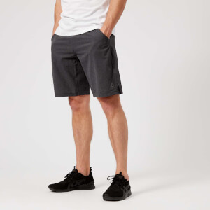 Reebok Men's Crossfit Epic Base Board Shorts - Dark Grey Heather