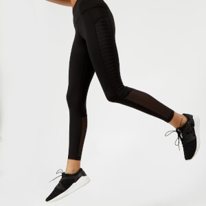 Reebok Women's Mesh Tights - Black