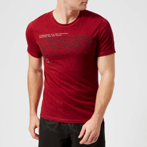 Reebok Men's CrossFit Graphic Short Sleeve T-Shirt - Rich Magma