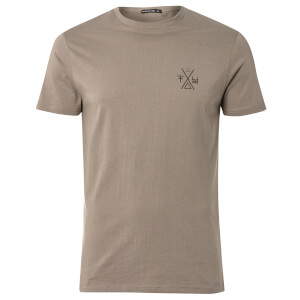 Friend or Faux Men's Palasadde T-Shirt - Steel Grey