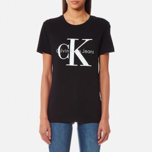 Calvin Klein Women's Shrunken T-Shirt - Meteorite