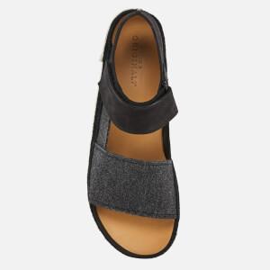 Clarks Originals Women's Trigenic Evo S Nubuck Sandals - Black: Image 3