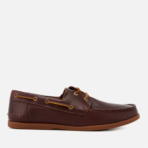 Clarks Men's Morven Sail Leather Boat Shoes - British Tan