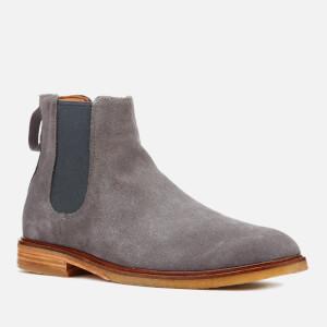 Clarks Men's Clarkdale Gobi Suede Chelsea Boots - Grey: Image 2