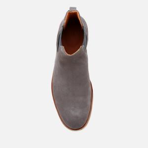 Clarks Men's Clarkdale Gobi Suede Chelsea Boots - Grey: Image 3
