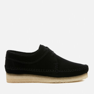 Clarks Originals Women's Weaver Suede Shoes - Black