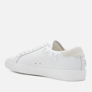 Ash Women's Dazed Leather Low Top Trainers - White Snow: Image 2