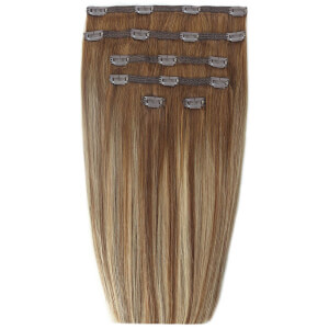 "Beauty Works 18"" Double Hair Set Clip-In Extensions doczepiane włosy – Biscuit Balayage 4/27/10"