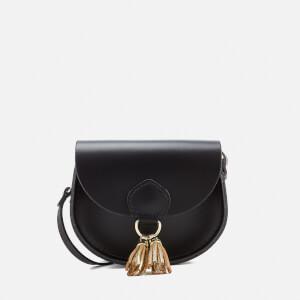 The Cambridge Satchel Company Women's Mini Tassel Bag - Black with Gold Tassels