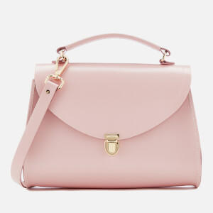 The Cambridge Satchel Company Women's Poppy Bag - Peach Pink Saffiano