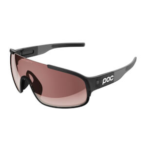 POC Crave Sunglasses - Uranium Black Translucent/Grey