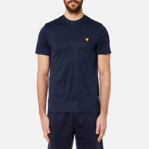 Lyle & Scott Men's Peters T-Shirt with Mesh Panels - Navy
