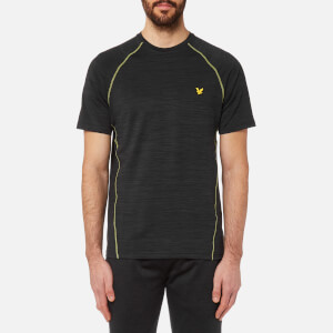 Lyle & Scott Men's Jones Training T-Shirt - True Black
