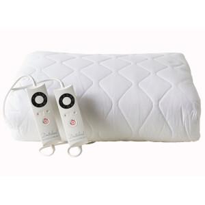 Dreamland 16315 Sleepwell Intelliheat Cotton Heated Mattress Protector - Super King Dual