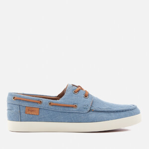Lacoste Men's Keellson Boat Shoes - Blue