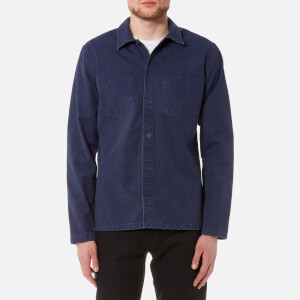 A.P.C. Men's Surchemise Franckie Shirt - Marine