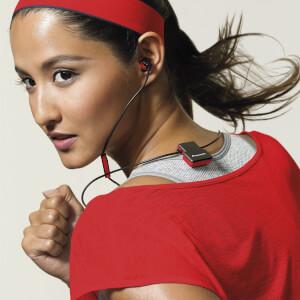 Pioneer SE-CL5BT-GR Wireless Bluetooth Earphones - Red: Image 5