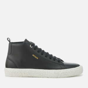 Axel Arigato Men's Chukka Leather Hi-Top Trainers - Black
