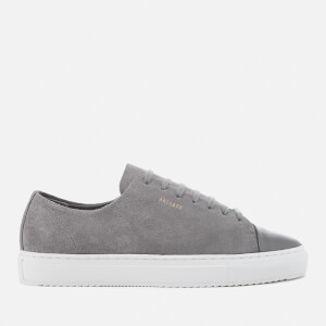 Axel Arigato Men's Cap Toe Suede Trainers - Dark Grey