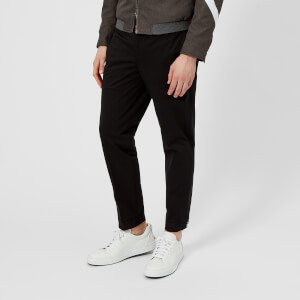 Neil Barrett Men's Adjustable Zip Hem Trousers - Black