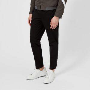 Neil Barrett Men's Adjustable Zip Hem Trousers - Black