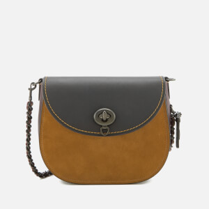 Coach Women's Turnlock Saddle Bag - Oak